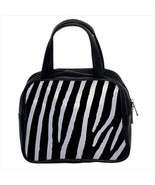 Zebra Custom Classic Handbag (Two Sides) - $29.99