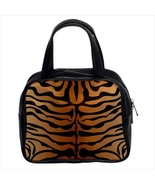Tiger Custom Classic Handbag (Two Sides) - $29.99