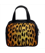 Leopard Custom Classic Handbag (Two Sides) - $29.99