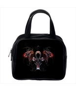 Winged Cross Custom Classic Handbag (Two Sides) - $29.99