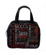 Coffee Custom Classic Handbag (Two Sides) - $29.99