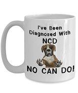 Funny Dog No Can Do Coffee Mug Gift Doggo Lovers - £12.87 GBP