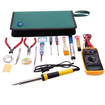 17in1 110V 60W Electric Soldering Iron Set Maintenance Tools Kit with Mu... - $49.95
