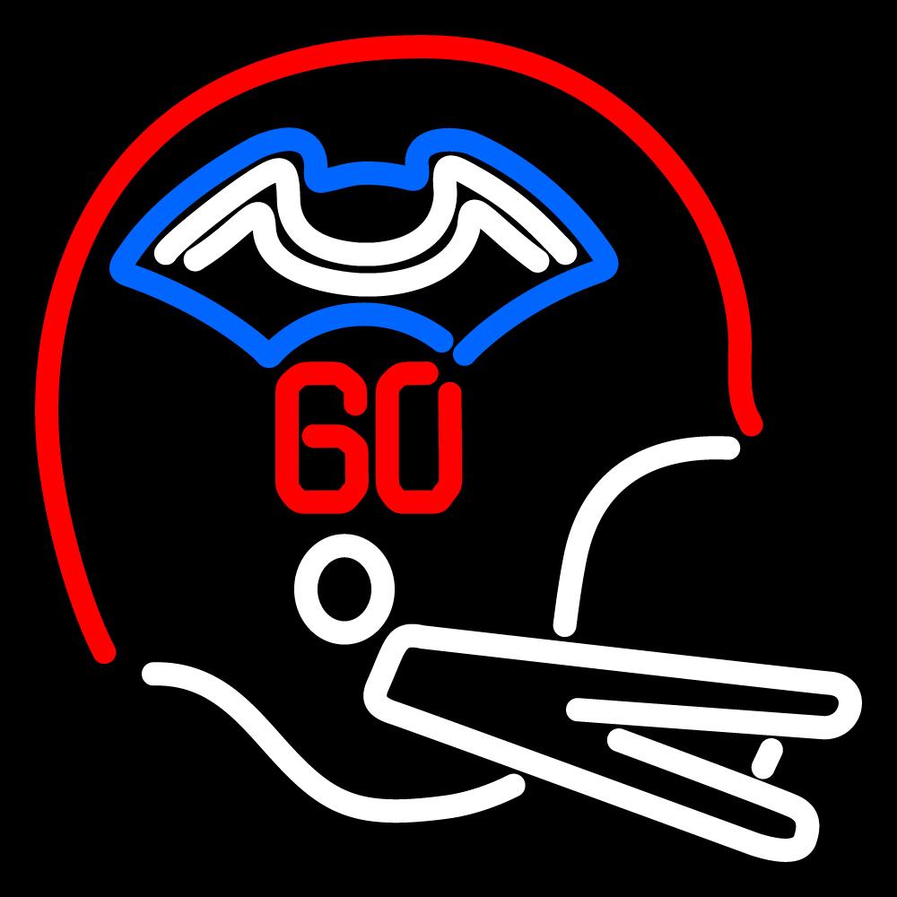 nfl new england patriots helmet logo neon sign neon