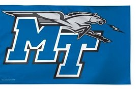 Middle Tennessee State University Blue Raiders 3 x 5' Foot Flag - $37.37