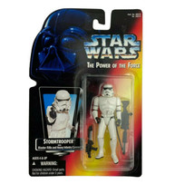 Star Wars Stormtrooper Action Figure With Blaster Gun Kenner Toys NEW in... - $19.99
