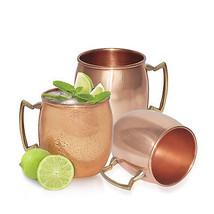 Set of 3 Pure Copper MOSCOW MULE BEER VODKA MUG... - $38.55