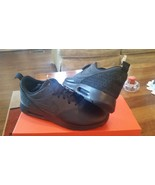 Nike AIR MAX TAVAS Leather 802611 002 size 9 Black Training Running shoes - $142.10