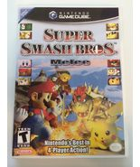 Super Smash Brothers Melee - Gamecube - Replacement Case - No Game - $7.91