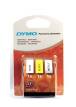 Dymo LetraTag Labelling Tape 12mm x 4m Variety Pack [NEW & SEALED !!!] - $7.44