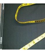 Italian Wool Super 120'S Desinger Suit Fabric 8 Yards Black MSRP $1690 - $88.99
