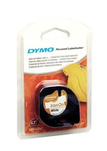 DYMO LetraTAG Iron-on tape - 1 roll(s) [Buy 2 get 1 Free] [New&Sealed] - $4.60