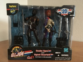 G.I. Joe Snake Eyes and Agent Scarlett Wizard ToyFare Exclusive Figure S... - $40.00