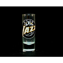 "Utah Jazz NBA ""Hype"" Tall Shot Glass - $9.85"
