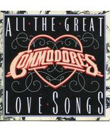 Commodores ( All The Great Love Songs ) CD - $3.50
