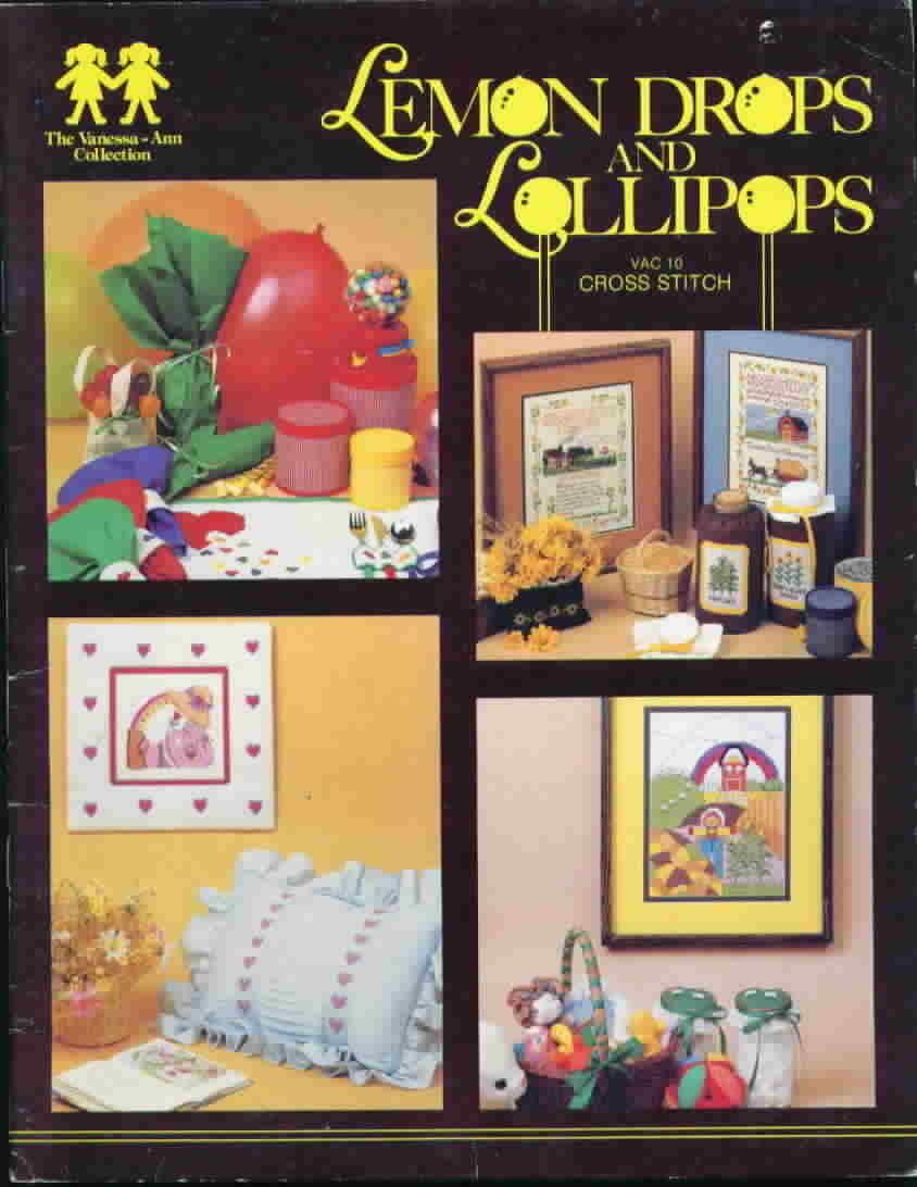 Vanessa ann collection lemon drops and lollipops