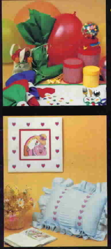 Vanessa Ann Collection Lemon Drops and Lollipops Cross Stitch