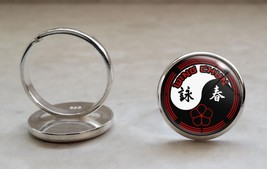 925 Sterling Silver Adjustable Ring Wing Chun Kung Fu Martial Arts MMA - $34.65