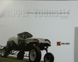 2007 Agco 4455, 4655 Spra-Coupe Sprayers Brochure - $7.00