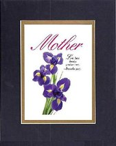 GoodOldSaying - Poem for Mother - Mother, Let her deeds praise her - Proverbs... - $9.85