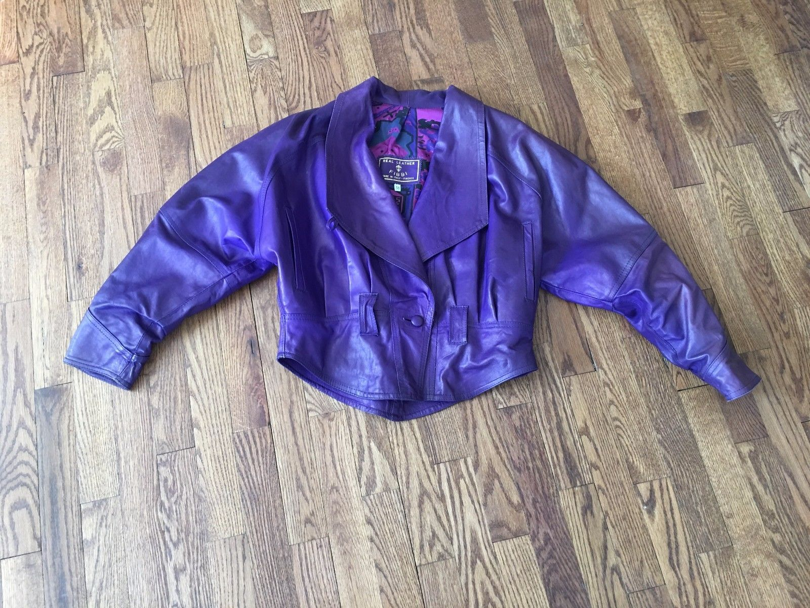 cc11a5c3e655 Fibbi Women s Purple Genuine Leather Lined and 50 similar items