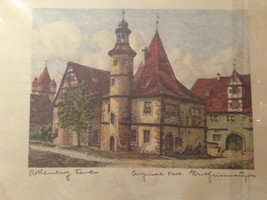 Rothenburg Tower #3(Home) By Ernest Geissendorfer - $60.00