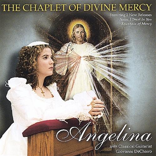 Angelina   prays the chaplet of divine mercy