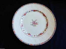 """VTG Alfred Miakin Porcelain China England Floral Embossed Dinner Plate 10"""" - $38.61"""