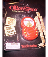 office space talking keychain work sucks 6 classic lines brand new! - $12.99