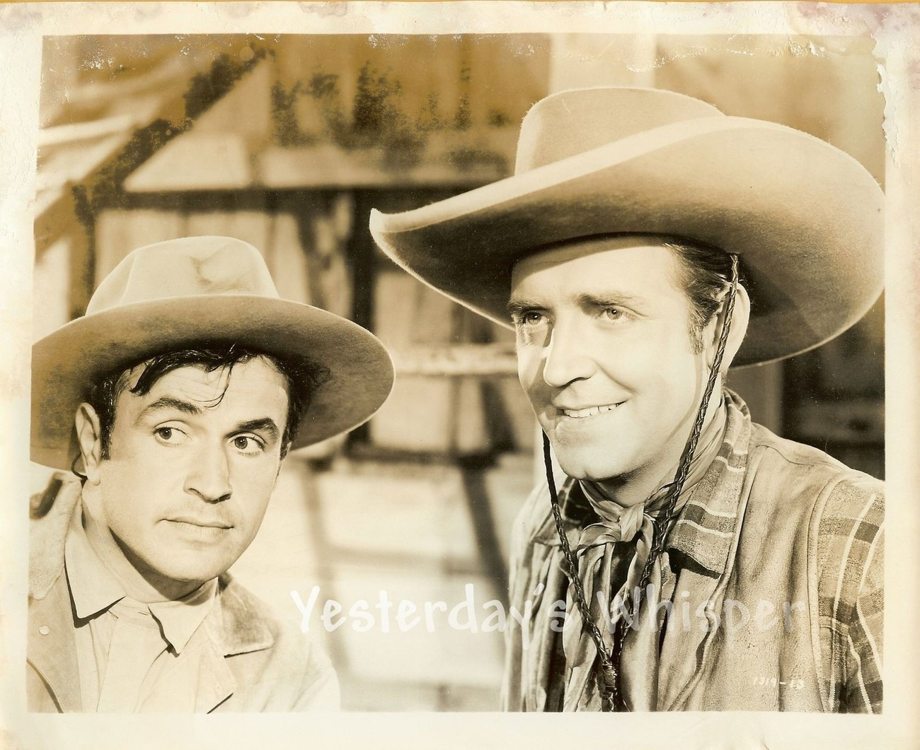 Robert Paige Noah Beery Jr. Frontier Badmen c.1943 Original Universal Photo