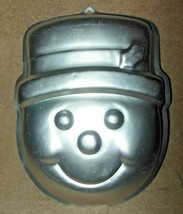 WILTON ALUMINUM FROSTY SNOWMAN CAKE PAN OR MOLD  - $14.99