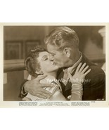 Ronald COLMAN lays a Wet one on SIGNE HASSO ORIGINAL 1947 Movie Photo - $14.99