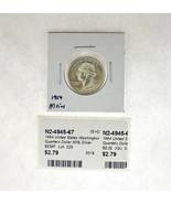 1964 United States Washington Quarters Dollar 90% Silver RATING: (F) Fin... - $3.73 CAD