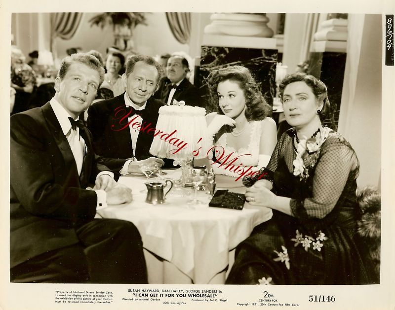 Susan Hayward Dan Dailey c.1951 Original Movie Photo