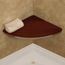 Invisia Corner Shower Seat Brushed Nickel - $361.00