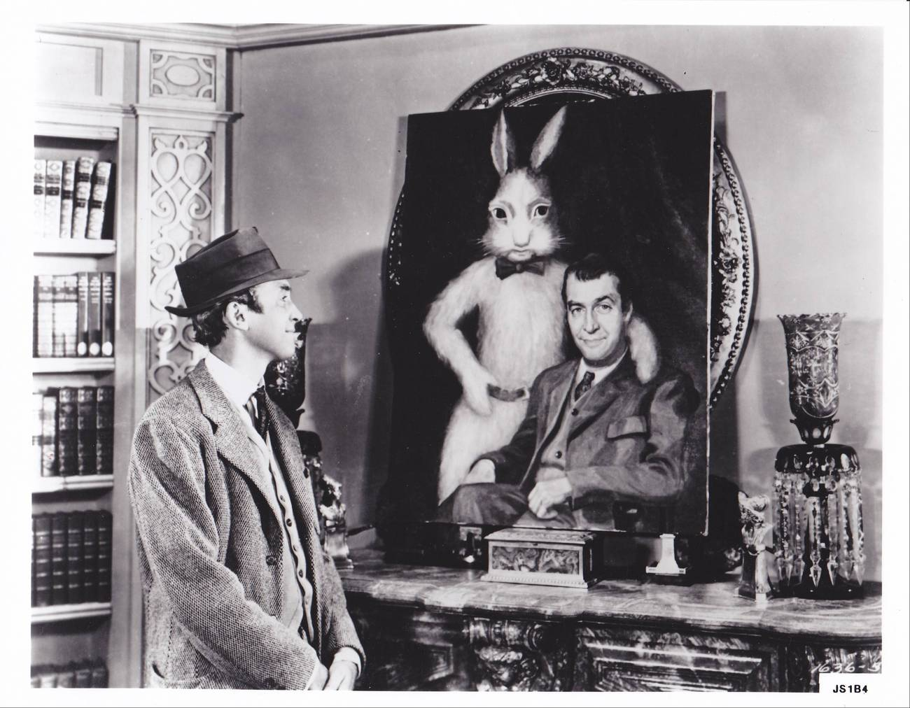 JIMMY STEWART IN HARVEY 8X10 PHOTOGRAPH ORIGINAL RARE ...
