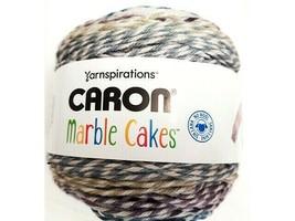 Caron Marble Cakes Yarn in Violet Plum #296621