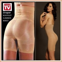 Body Slimmer Shaper Hip Waist Cincher Long Panty Underwear Girdle As Seen on TV image 1