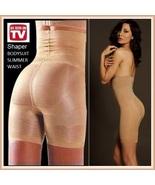 Body Slimmer Shaper Hip Waist Cincher Long Panty Underwear Girdle As See... - $21.95