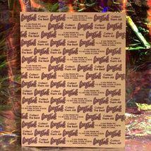 Vintage 90s Lisa Frank Incomplete Fullsize Sticker Sheet Easter Bunnies  image 4