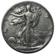 1929S Walking Liberty Half Dollar 90% Silver Coin Lot# B 5