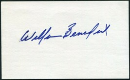 WILLIAM BENEDICT SIGNED 3X5 INDEX CARD THE BOWERY BOYS ADVENTURES CAPTAI... - $27.71