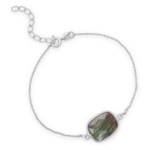 Sterling Silver and Labradorite Bracelet - $34.95