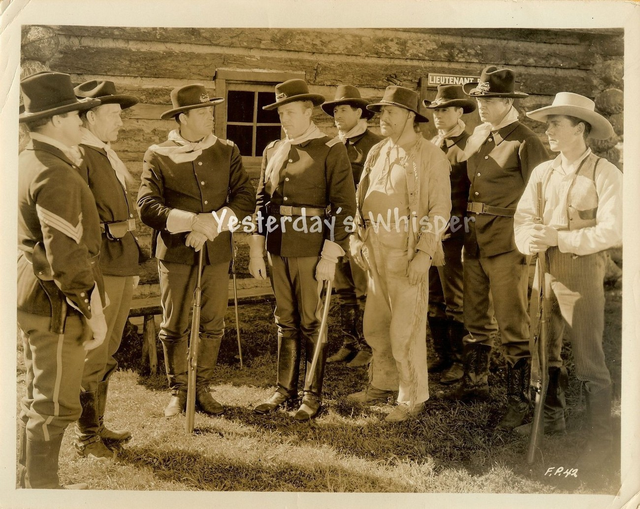 Unknown Unidentified Western perhaps Leslie Howard Original Movie Photo
