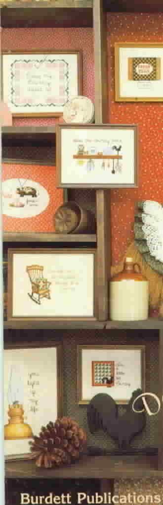 Dale Burdett Say It Country Style Cross Stitch