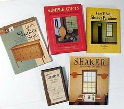 Shaker Style Furniture Book and VHS Lot ~ Woodcraft Woodworking - $49.45
