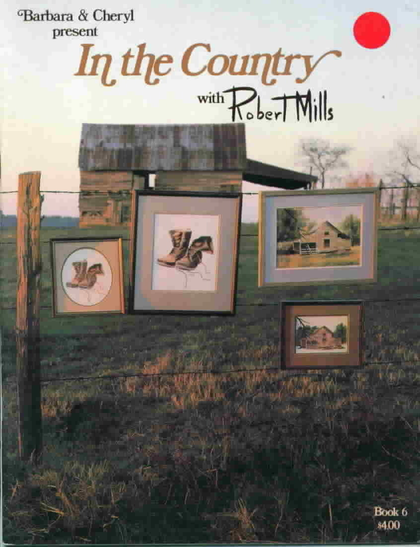 In the country cross stitch