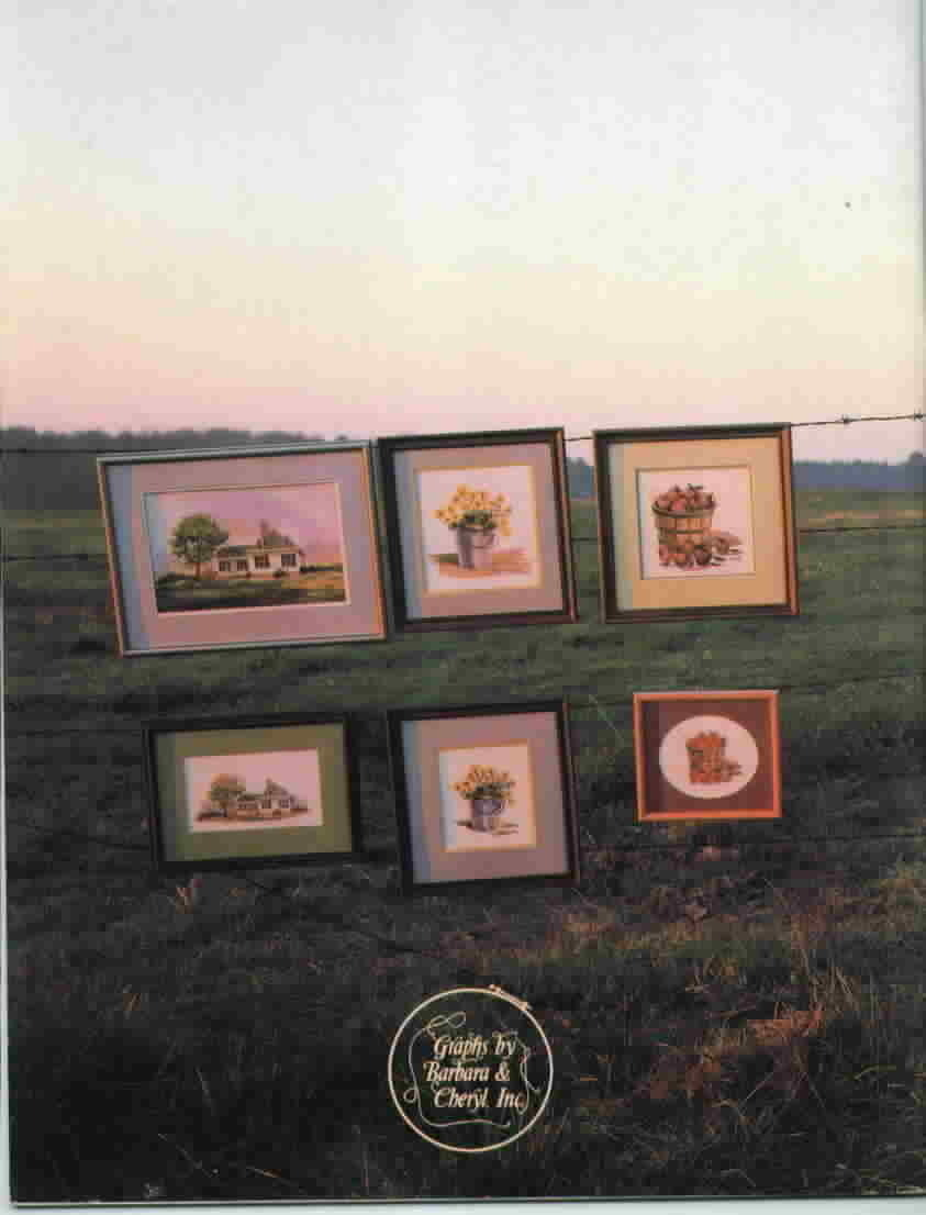 Barbara and Cheryl present In The Country Cross Stitch Vintage