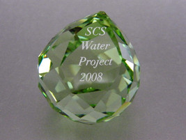 SWAROVSKI WATER PROJECT PAPERWEIGHT - $141.21