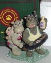 BOYDS BEARS   Hippolita and Hugo D. Nile   MIB   #2436 - $19.35